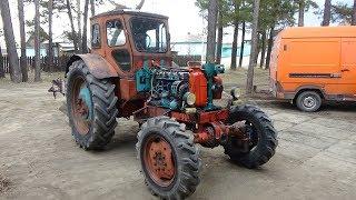 Ремонт трактора Т-40 АМ ч.№1,снятие и переборка рулевой колонки .