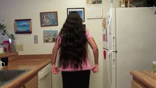 Very Long Dark Hair