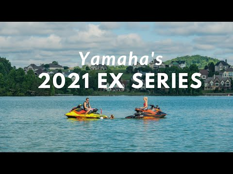 2021 Yamaha EX Deluxe in Trego, Wisconsin - Video 1
