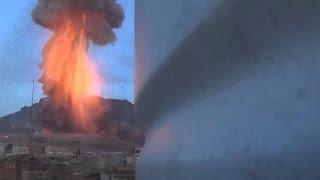 Une bombe atomique à neutrons larguée au Yémen 720p