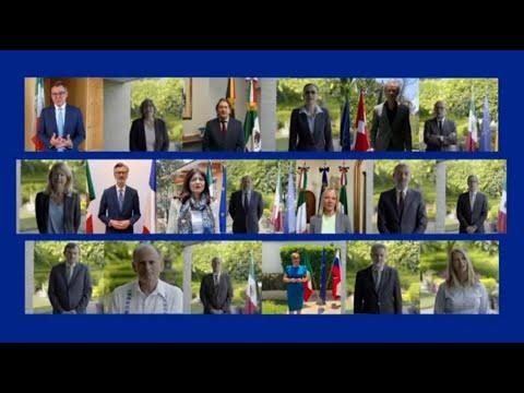 Mensaje de las y los Embajadores de los países de la Unión Europea con motivo del Día de Europa 2021
