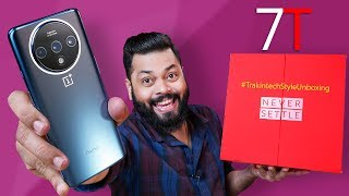 OnePlus 7T Unboxing & First Impressions ⚡⚡ Premium From Every Angle!