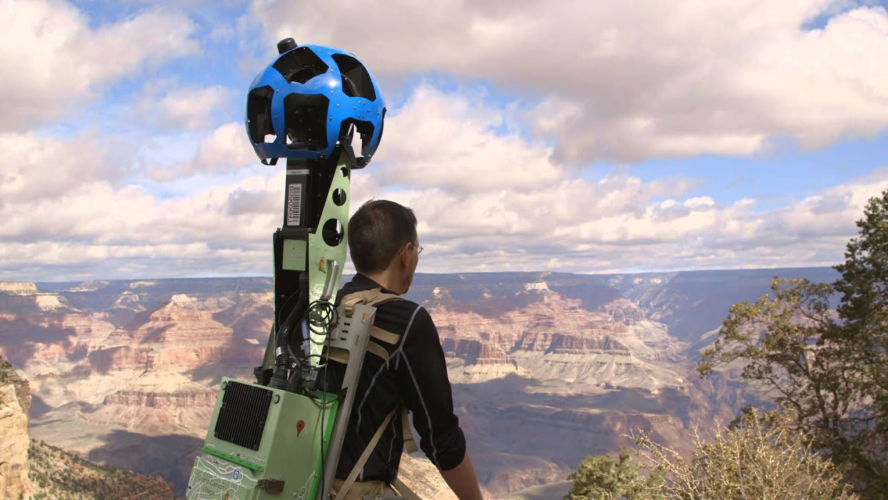 Explore the Grand Canyon with Google Maps