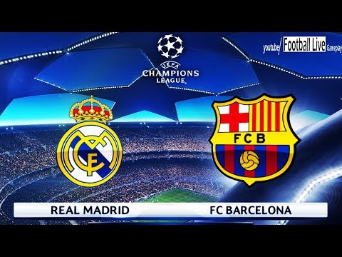 PES 2018   Real Madrid vs Barcelona   UEFA Champions League (UCL)   Gameplay PC