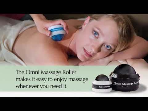 Core Omni Massage Roller with Black Cap