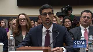 Google CEO Sundar Pichai complete opening statement (C-SPAN)
