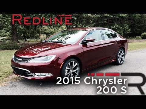 2015 Chrysler 200 S Road Test Review