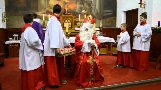 preview picture of video 'Mikulás a balatonalmádi Szent Imre templomban'