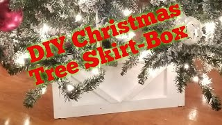 Christmas Tree Skirt-Box