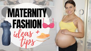 MY MATERNITY CLOTHING MUST HAVES! (ALL STAGES OF PREGNANCY!)| Brittney Gray