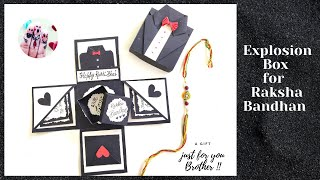 Explosion Box For Raksha Bandhan || Gift Box For Brother || Rakhi Special