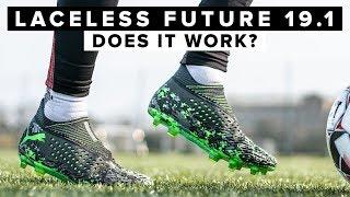 The reason you SHOULDN'T DO THIS   No laces PUMA FUTURE
