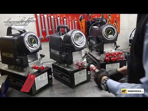 Bombas hidráulicas TorcUP - Serie EP y AP │HIDRATOOLS