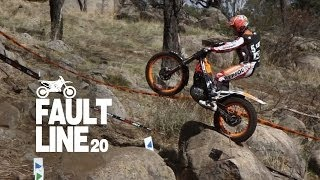 2014 FIM Trial Championship Australia highlights - Bou Fajardo Fujinami Raga