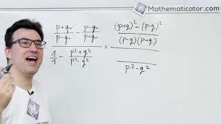 Úprava algebraických výrazů - příklad 4
