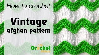 Vintage Afghan Crochet Pattern - Afghan Crochet Patterns