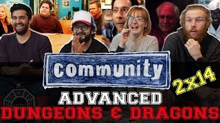 Community - 2x14 Advanced Dungeons and Dragons - Group Reaction