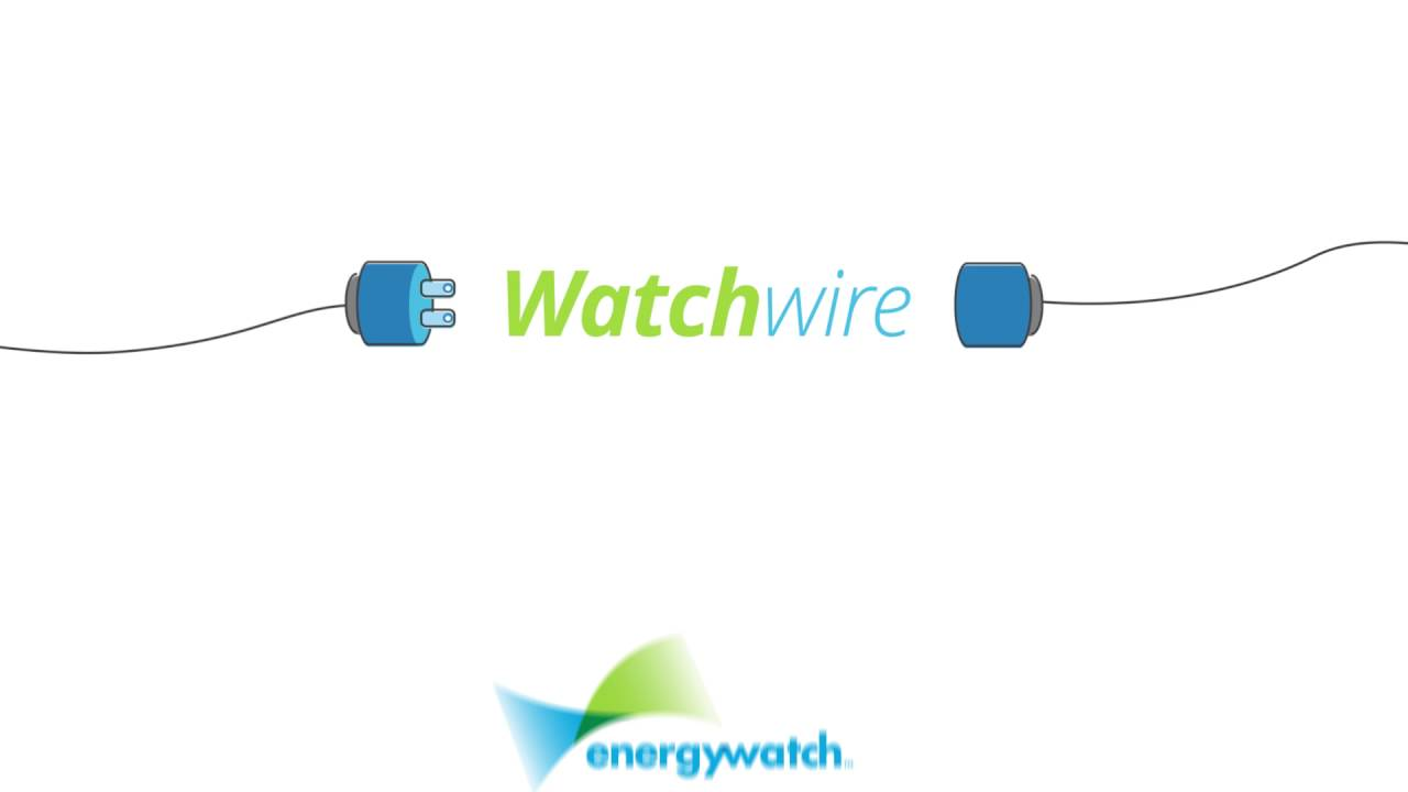Introducing EnergyWatch's Integrated Energy Management Solution WatchWire