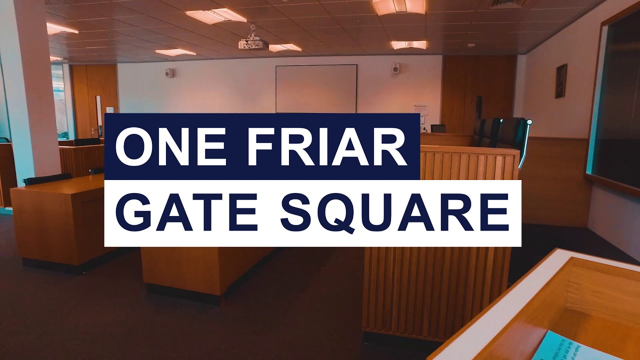 A look around One Friar Gate Square, the University of Derby's Law School