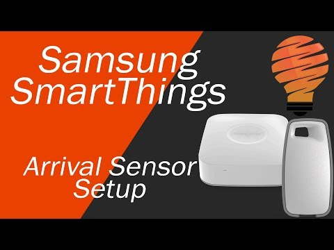 Samsung SmartThings Arrival Unbox, Sensor Setup, and Usage in a Security System