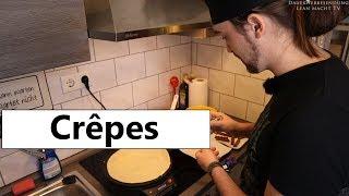 Crepes selber machen - Crepes Teig & Crepes Maker [Lean macht Essen]