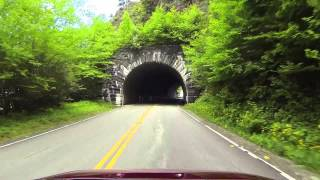 Blue Ridge Parkway Tunnels & Scenery Near Mt. Mitchell