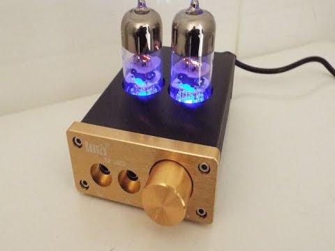 Audio Hifi 6J9 vacuum tube headphone mini amplifier  on ebay