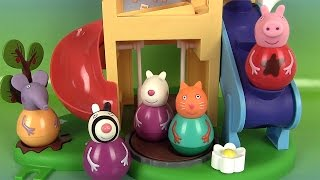 Peppa Pig Figurines Culbuto Aire De Jeux Weebles Wind & Wobble Playhouse