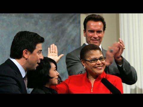 Rep. Karen Bass emerges as a leading VP contender