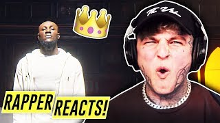 STORMZY   CROWN (OFFICIAL PERFORMANCE VIDEO) | RAPPER REACTS