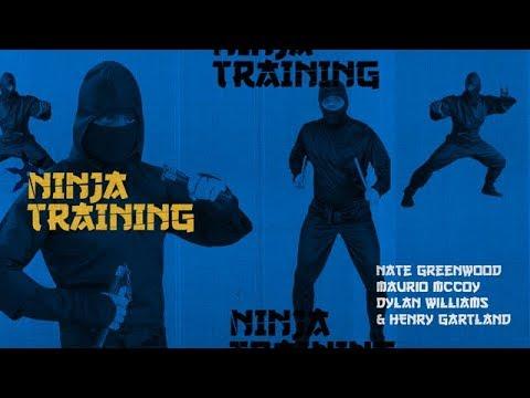 Nate Greenwood, Maurio McCoy, Dylan Williams & Henry Gartland - Ninja Training