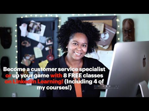 8 FREE customer service classes on LinkedIn Learning! Including 4 ...
