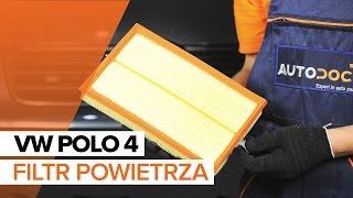 Wymiana filtr powietrza VW Polo | Tutorial HD