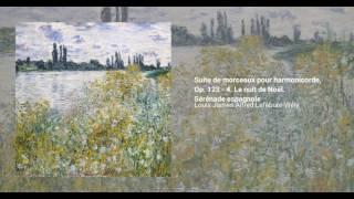 Suite de morceaux pour harmonicorde, Op. 123