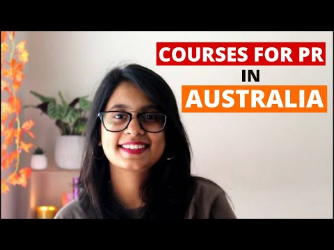 4 Courses to get PR in Australia for international students