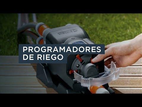 Elegir e instalar programadores de riego - Gardena