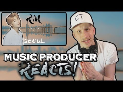 Music Producer Reacts To RM 'seoul (prod. HONNE)' Lyric Video