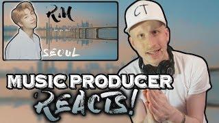 Music Producer Reacts To RM 'seoul (prod. HONNE)' Lyric Video