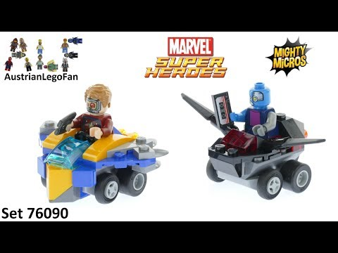 Vidéo LEGO Marvel Super Heroes 76090 : Mighty Micros : Star-Lord contre Nebula
