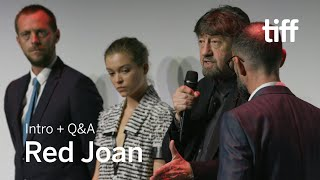RED JOAN Cast And Crew Q&A | TIFF 2018