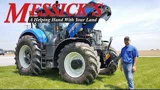 How to Operate a New Holland T7.315 CVT Transmission Tractor   Messick's