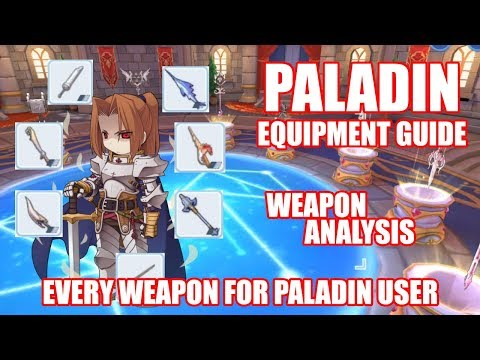 Paladin Full Tank Status Equipment and Rune Ragnarok Mobile