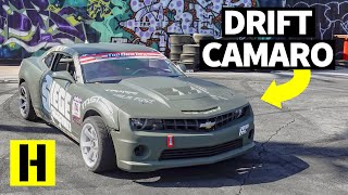 Can You Turn a 5th Gen Chevy Camaro Into a Pro Drift Car?