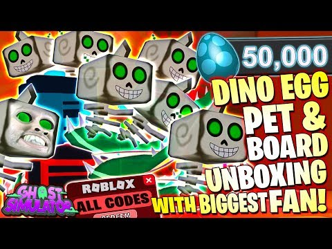 Donate A Big Robux Bag Roblox Steam Community Video 50000 Dino Egg Crate Unboxing With Biggest Fan Ghost Simulator Dinosaur Event Update 9 Roblox Pc