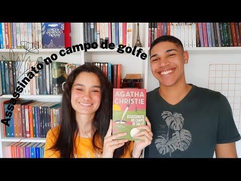 ASSASSINATO NO CAMPO DE GOLFE | O melhor livro de Agatha Christie que eu já li!