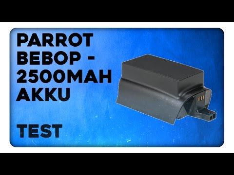 Parrot Bebop - 2500maH Akku Flugtest