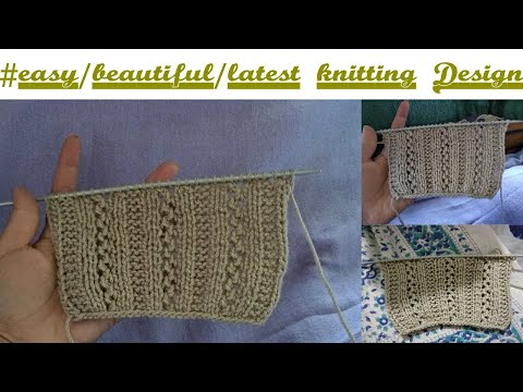 Gents Sweater Design Latest How To Knit Easy Gents Pattern In