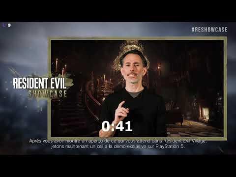 Ethan, mi-homme, mi-tortue ninja (VOD Twitch) de Resident Evil Village