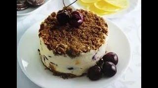 Торт за 5 минут 🎂 без выпечки 👍супер быстрый рецепт👍