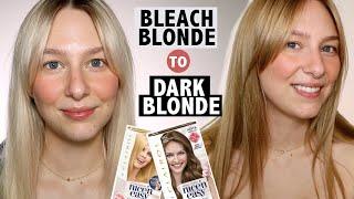 BLONDE TO BROWN | Tips For Darkening Bleached Hair